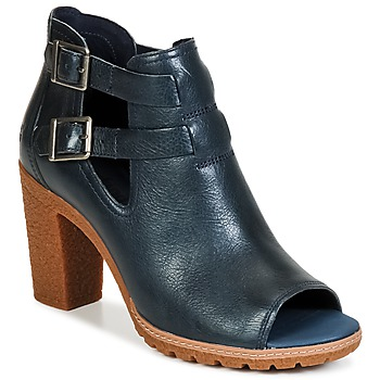 Schuhe Damen Low Boots Timberland EARTHKEEPERS® GLANCY PEEP TOE Blau