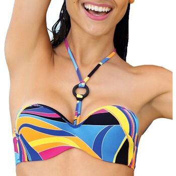 Kleidung Damen Bikini Ober- und Unterteile Antigel EBA7127 VT Multicolor