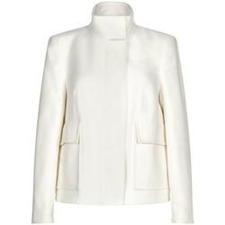 Kleidung Damen Jacken / Blazers Anastasia -Woman Creme Kurz Winterjacke White