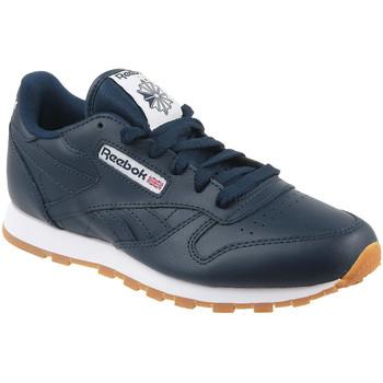 Schuhe Kinder Sneaker Low Reebok Sport Classic Lth AR1312 Blau