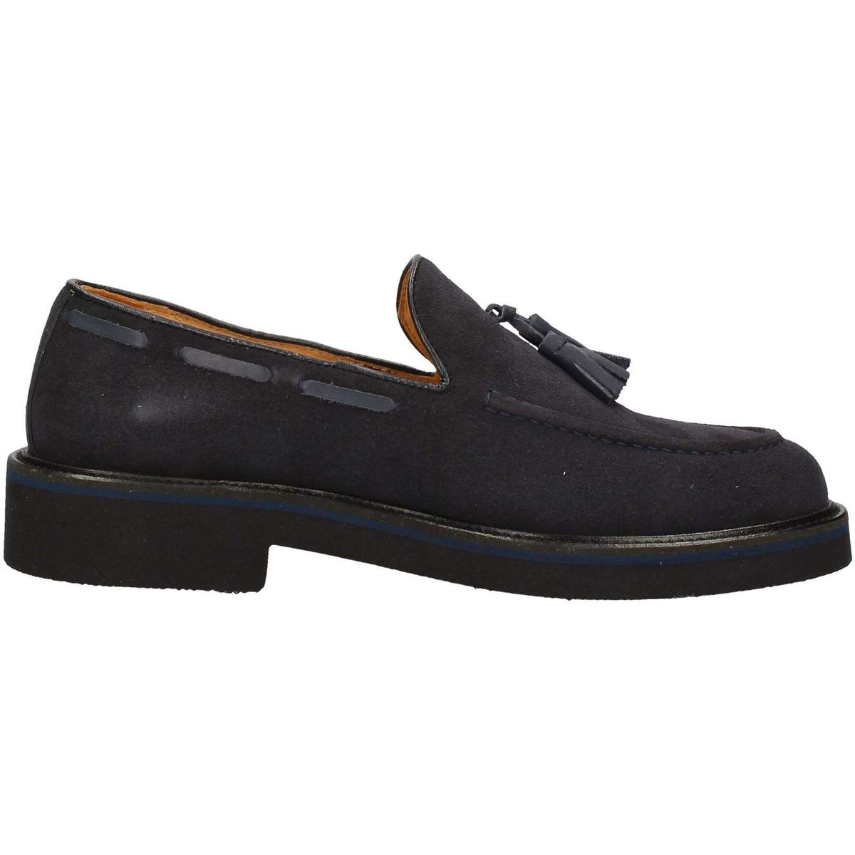 Hudson 9020 Mokassin Mann Blau Blau - Schuhe Slipper Herren 92,20 €