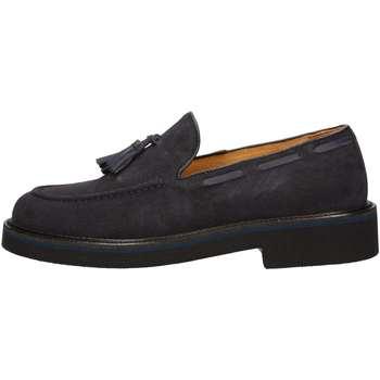Schuhe Herren Slipper Hudson 9020 BLUE