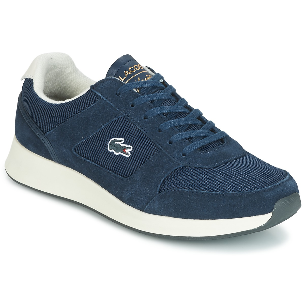 Lacoste JOGGEUR 118 1 Blau - Kostenloser Versand bei Spartoode ! - Schuhe Sneaker Low Herren 95,20 €