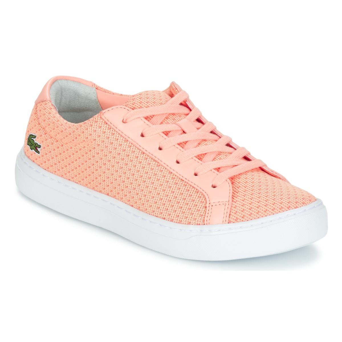 Lacoste L1212 LIGHTWEIGHT1181 Rose - Kostenloser Versand bei Spartoode ! - Schuhe Sneaker Low Damen 54,50 €