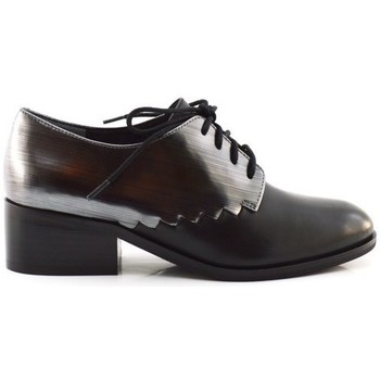 Schuhe Damen Derby-Schuhe What For OWEN black Noir