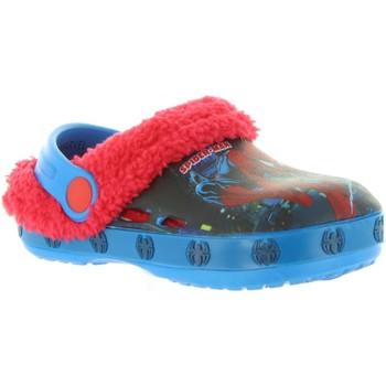 Schuhe Jungen Hausschuhe Spiderman S18195X AZUL Azul