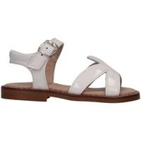 Schuhe Mädchen Sandalen / Sandaletten Eli 1957 4179T BIANCO Sandalen Kind weiß weiß
