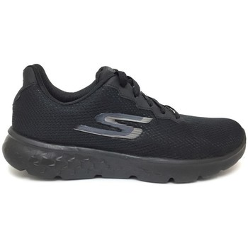 Schuhe Damen Sneaker Low Skechers GO Run 400 Action Schwarz