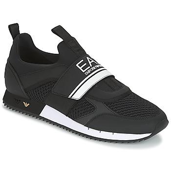 Schuhe Herren Sneaker Low Emporio Armani EA7 BLACK & WHITE U Schwarz