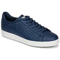 Schuhe Herren Sneaker Low Emporio Armani EA7 CLASSIC U Blau