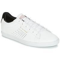 Schuhe Damen Sneaker Low Le Coq Sportif AGATE LO S LEA/SATIN Weiss