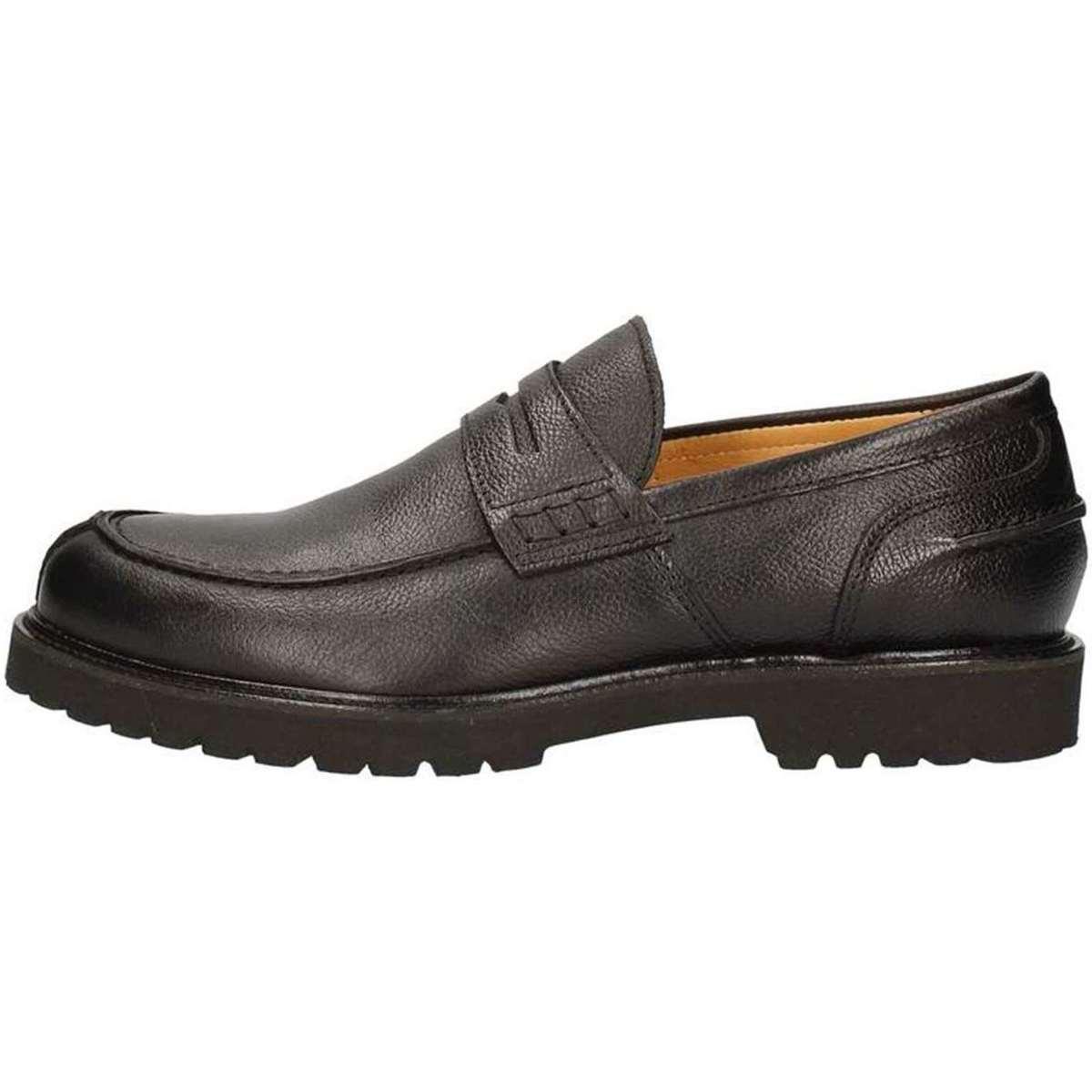 Hudson 314 Mokassin Mann Schwarz Schwarz - Schuhe Slipper Herren 84,20 €