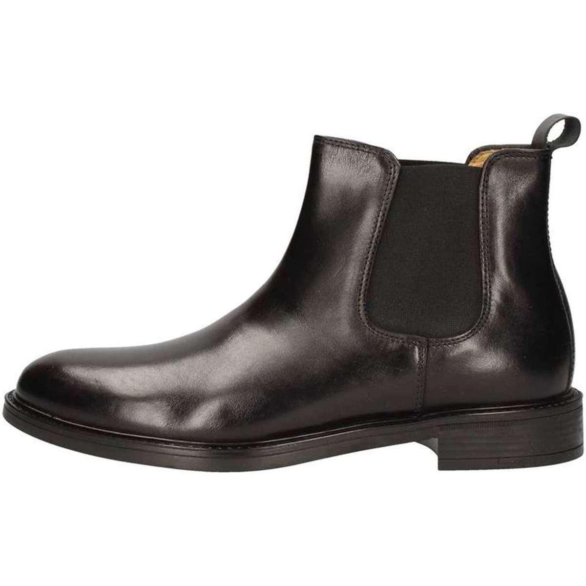 Hudson 740 Stiefeletten Mann Schwarz Schwarz - Schuhe Klassische Stiefel Herren 100,20 €