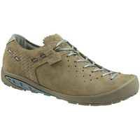 Schuhe Damen Sneaker Low Salewa Ramble Goretex Womens Grau-Beige