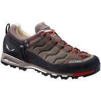 Schuhe Herren Sneaker Low Salewa MS Mtn Trainer Leather Schwarz-Braun-Rot