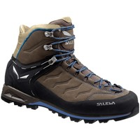 Schuhe Herren Wanderschuhe Salewa Mtn Trainer Mid Leather Graphit-Braun