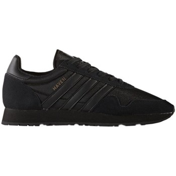 Schuhe Herren Sneaker Low adidas Originals Haven Schwarz