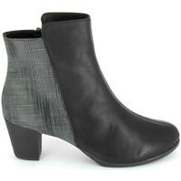 Schuhe Damen Low Boots TBS Katelyn Noir Schwarz
