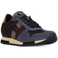 Schuhe Herren Sneaker Low Blauer QUINCY DARK BROWN    143,5