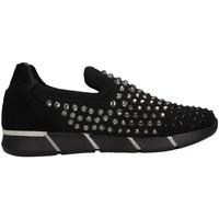 Schuhe Mädchen Slip on Florens Z869018V Slip On Kind schwarz schwarz