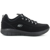 Schuhe Damen Sneaker Low Skechers SYNERGY 2.0 SIDE-STEP 12364 Noir