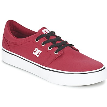 Schuhe Herren Sneaker Low DC Shoes TRASE TX MEN Rot / Schwarz