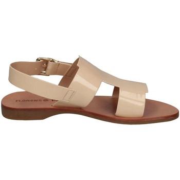Schuhe Mädchen Sandalen / Sandaletten Florens Z5886 Sandalen Kind Elfenbein Elfenbein