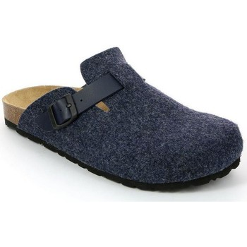Schuhe Herren Pantoletten / Clogs Grunland CIABATTA MAN BLU