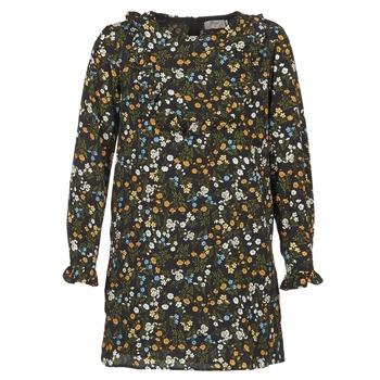 Kleidung Damen Kurze Kleider Betty London HOTU Schwarz / Multifarben