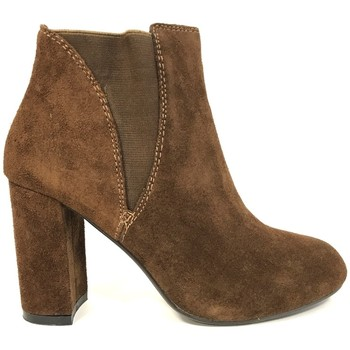 Schuhe Damen Low Boots Cassis Côte d'Azur Cassis cote d'azur Bottine Lassie Camel Braun