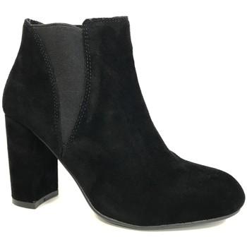 Schuhe Damen Low Boots Cassis Côte d'Azur Cassis cote d'azur Bottine Lassie Noir Schwarz