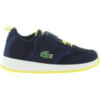 Schuhe Kinder Sneaker Low Lacoste 33SPC1004 LIGHT NV1 NVY Azul