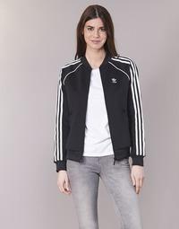 Kleidung Damen Trainingsjacken adidas Originals SST TT Schwarz