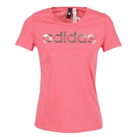 Kleidung Damen T-Shirts adidas Performance FOIL LINEAR Rose
