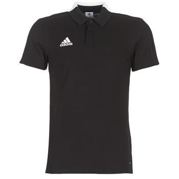 Kleidung Herren Polohemden adidas Performance CON18 CO POLO Schwarz