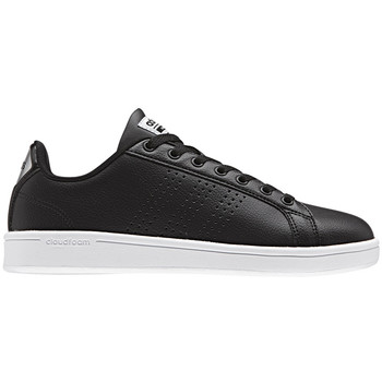 Schuhe Damen Sneaker Low adidas Originals Cloudfoam Advantage Clean Women Schwarz