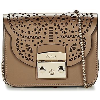 Taschen Damen Umhängetaschen Furla METROPOLIS BOLERO MINICROSSBODY Bronze