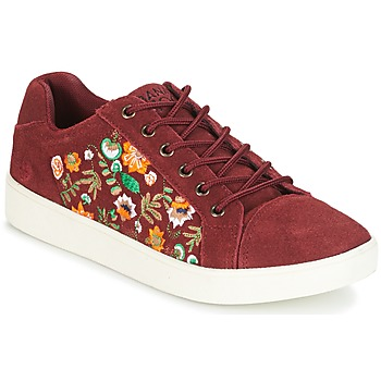 Schuhe Damen Sneaker Low Banana Moon RACLO Bordeaux