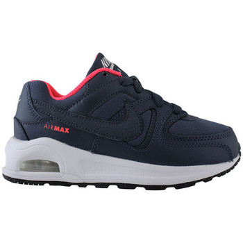 Schuhe Kinder Sneaker Low Nike air max command flex (ps) 844350 400 Azul