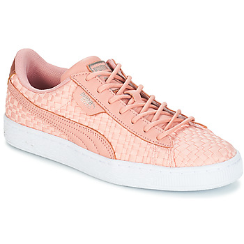 Schuhe Damen Sneaker Low Puma BASKET SATIN EP WN'S Rose