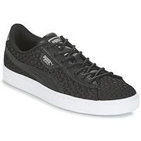 Schuhe Damen Sneaker Low Puma BASKET SATIN EP WN'S Schwarz