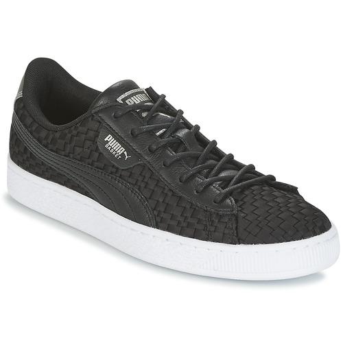 Puma BASKET SATIN EP WN'S Schwarz  Schuhe Sneaker Low Damen 71,19