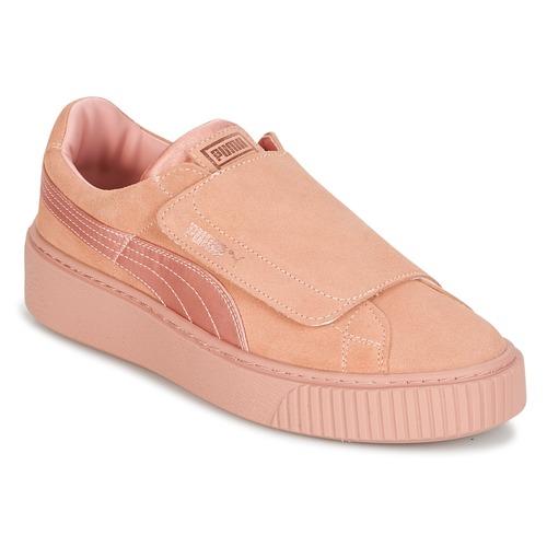 Puma PLATFORMSTRAP SATIN EP W'S Rose  Schuhe Sneaker Low Damen 87,20