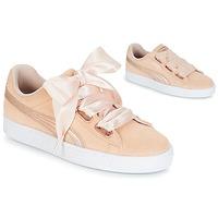 Schuhe Damen Sneaker Low Puma SUEDE HEART LUNALUX W'S Rose