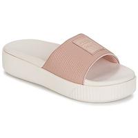 Schuhe Damen Pantoffel Puma PLATFORM SLIDE WNS EP Rose
