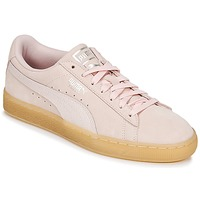 Schuhe Damen Sneaker Low Puma SUEDE CLASSIC BUBBLE W'S Rose