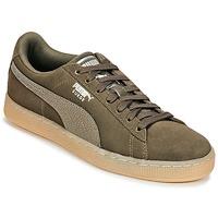 Schuhe Damen Sneaker Low Puma SUEDE CLASSIC BUBBLE W'S Schwarz / Grau