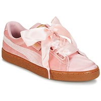 Schuhe Damen Sneaker Low Puma BASKET HEART VS W'N Rose