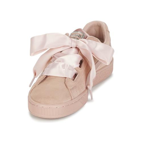 Puma W SUEDE HEART EP EP HEART Rose  Schuhe Sneaker Low Damen 79,19 23e55b