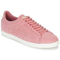 Schuhe Damen Sneaker Low Le Coq Sportif CHARLINE SUEDE Rose